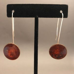 Artisan handmade earrings.